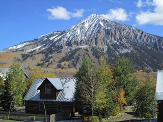 Crested Butte cottage photo - Late Fall View from Porch!!