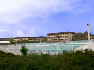 Folly Field condo photo - The largest oceanside pool on Hilton Head Island