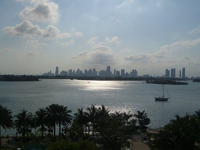 Miami Beach condo rental - view from unit