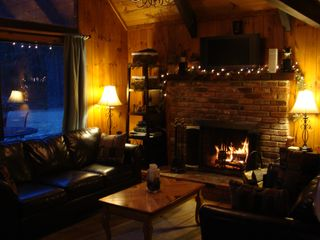 Living room - North Conway chalet vacation rental photo