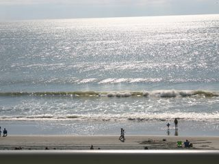 Grand Atlantic condo photo - Perfect oceanfront view from large balcony!