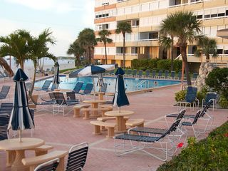 Redington Shores condo photo - Heated pool and deck.