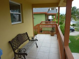 South Padre Island house photo - Upper unit - Balcony area