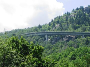 Linn Cove Viaduct - Viewed from Three Miles Down Road from Cottage