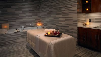 Spa at Trump® is a serene sanctuary featuring luxurious treatment rooms!