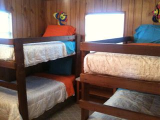 Surfside Beach cottage photo - Bunk room is a great place for the kids to call their own.