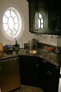 North Topsail Beach house rental - bar off of theater