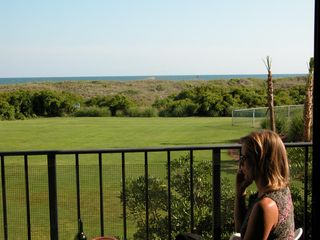 Atlantic Beach villa photo - Oceanfront deck