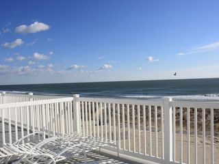 Ocean Colony Ocean City townhome photo - One of three large oceanfront decks