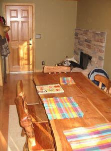 Dining Room w/ another Fireplace