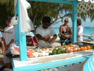 Great Exuma villa photo - Conch Salad! You gotta try it. Ask us where you can get your Conch on!