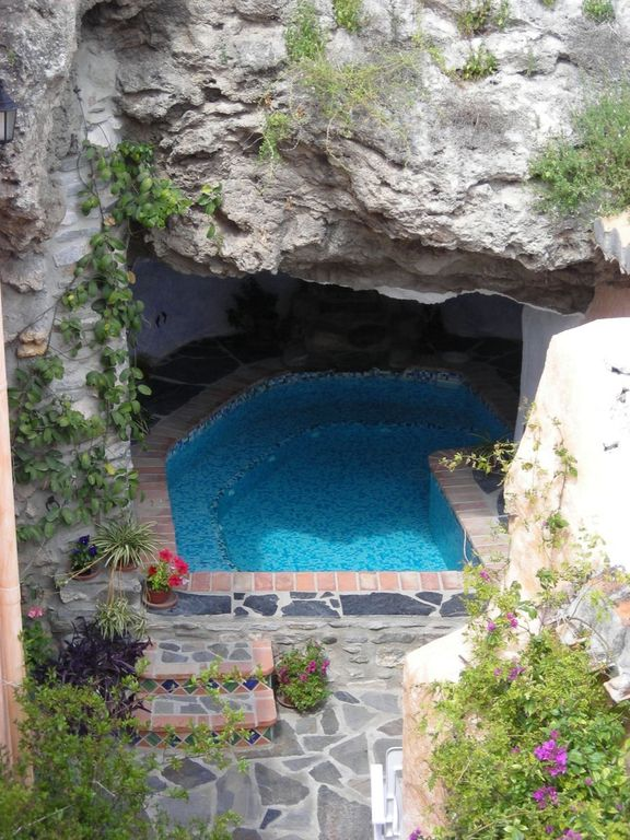 Typical andalusian villagehouse patio roof homeaway - Maison marocaine avec patio ...