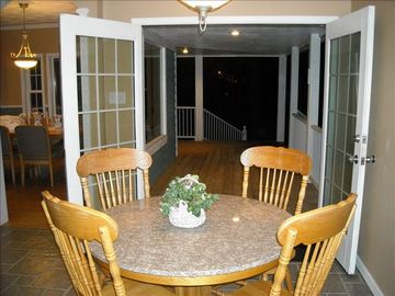 One of 3 Double Doors opening from Main Level to Outside Covered Porch