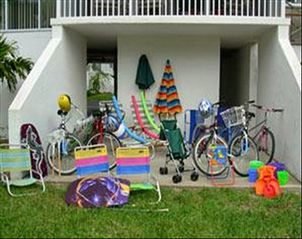 Sanibel Island condo photo - Your rental comes with all this (free bikes!)