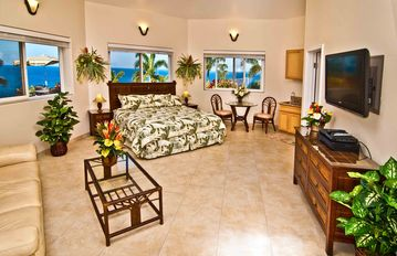 Pool side Bungalow # 1 with privite lanai and your own BBQ grill