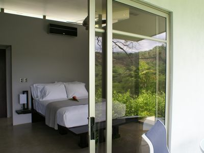 Each Guest Bedroom has a private terrace.