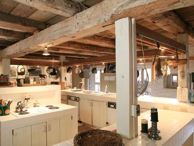 Barn kitchen