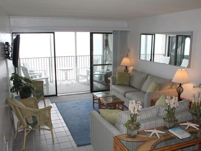 Breathtaking BeachFront Corner 2 bd w/ Private Balcony - Fall Dates Available!