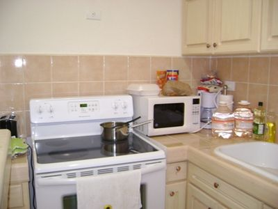 full equipped kitchen, drinking water provided