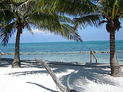 Ambergris Caye house rental - private beach