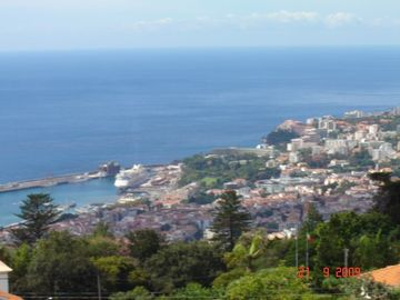 Funchal apartment rental - View of Botanic Gardens, Funchal City & Harbour