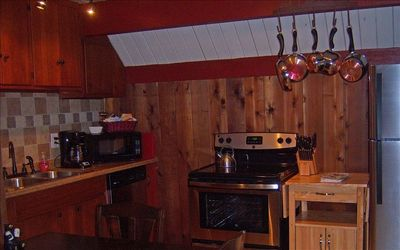 Ashford cabin rental - Kitchen