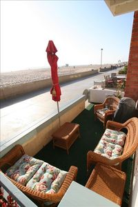 Oceanfront Patio with amazing sunset views for your enjoyment & bar-b-que too!