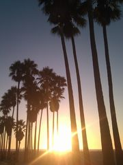Venice Beach house photo - A sunset stroll along the Pacific Ocean