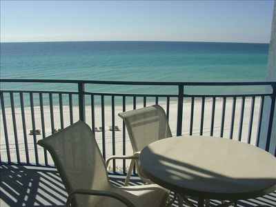 Breathtaking Views of the Gulf from the Living Room/Balcony