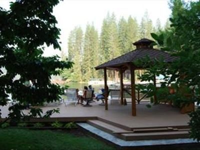Lakeside Deck & Gazebo