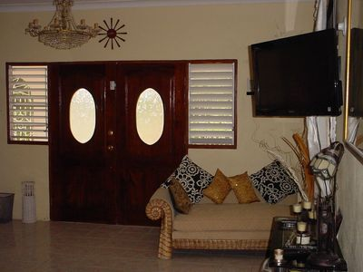 Ocho Rios house rental - Ground floor Lounge