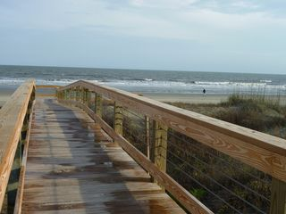 Kiawah Island villa photo - Boardwalk over the Dunes in Evening