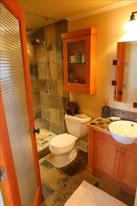 Second bathroom with shower