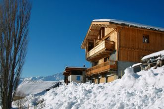 Beautiful and comfortable chalet with great views.