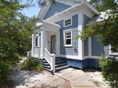 Front Exterior | Enchantment | Cottage Rental Agency | Seaside, FL