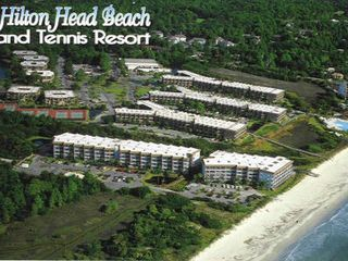 Folly Field condo photo - Aerial view of the HHI Beach & Tennis Resort