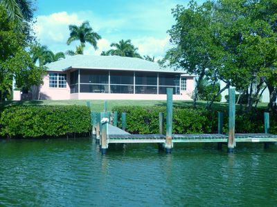 Private Caroland Home on Little Hickory Island with Boat Dock on Estero Bay