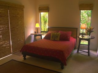 Poipu house photo - First floor master suite, queen bed and full bath