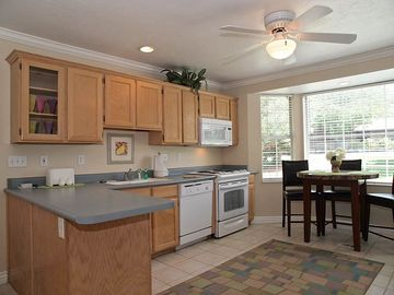 FULL KITCHEN W/ BISTRO TABLE (NICE APPLIANCES, CEILING FAN)