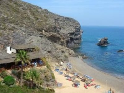 La Cala beach and fish restaurant