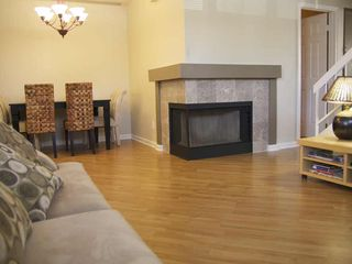 Mesa condo photo - Fireplace with Marble facing. Dining table has an extra leaf so you can seat 6.