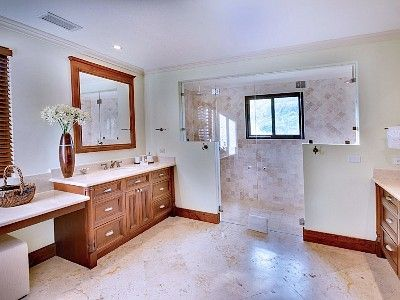 Master Bathroom with dual shower.