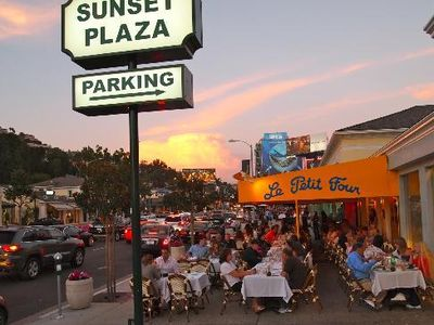 Sunset Plaza is the best part of Sunset Blvd. Great stores and restaurants.
