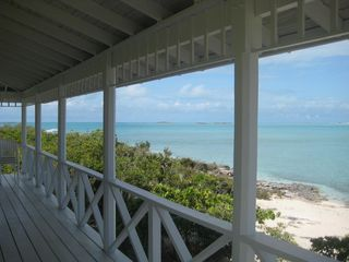 Staniel Cay house photo - West view from your porch