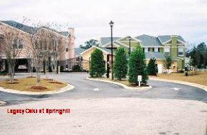 Mobile apartment rental - Legacy Oaks at Springhill