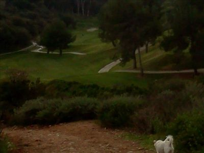 "Balboa Public Golf course & Switzer Canyon trail. ""B"" & ""H"" on the map"