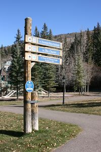 Beaver Creek condo rental - Ski in / ski out path just behind the condominium
