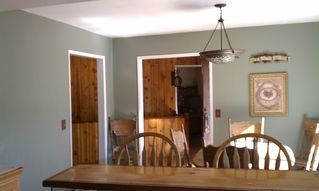 Dining Room view from kitchen - Lake Arrowhead cabin vacation rental photo