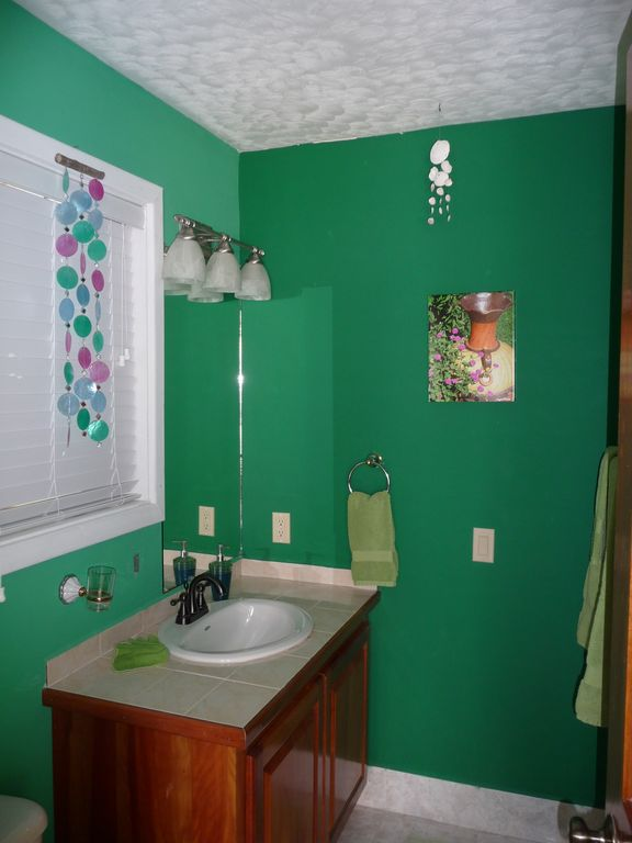 Private bath/shower for Emerald Green bedroom