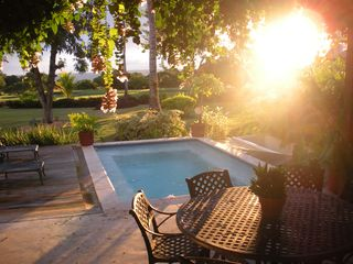 La Romana villa photo - Sunset from the Patio